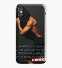 Strength And Beauty iPhone Case/Skin