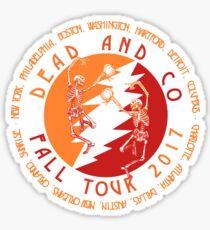 Fall Tour 2017 Dancing Skeletons Sticker