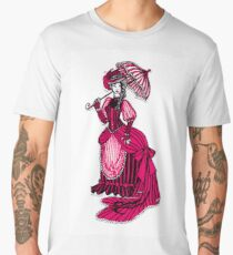 Pink Victorian Dress Men's Premium T-Shirt