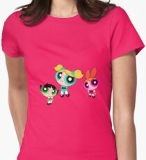 Power Puffs Glowing Girls T-Shirt