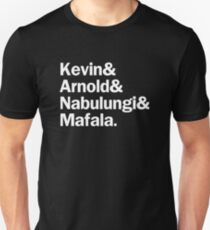 Book of Mormon Characters   White T-Shirt