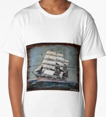 Ship at Sea Long T-Shirt