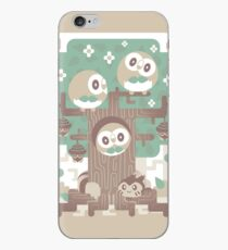 Holz Eule Holz iPhone-Hülle & Cover