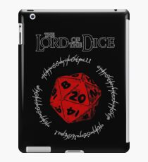 The Lord of the Dice (Red) iPad Case/Skin