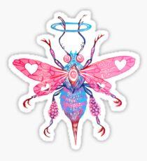 Bee -  Acrylic Painting Sticker