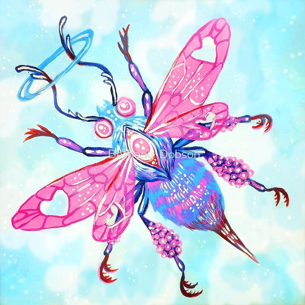 Biene - Acrylmalerei von cloudsover31