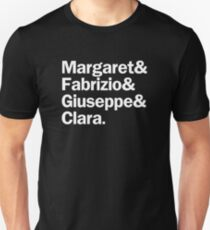 The Light in the Piazza Characters | White T-Shirt