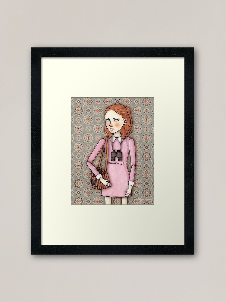 Alternate view of Suzy from Moonrise Kingdom Framed Art Print