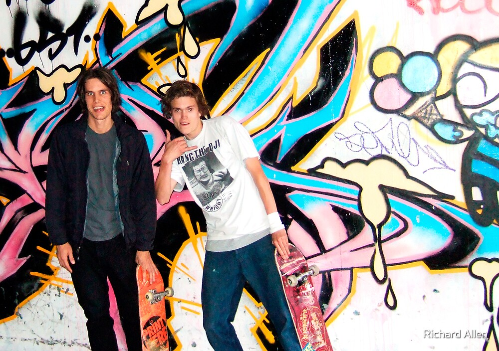 Board Skaters by Lea Valley Photographic