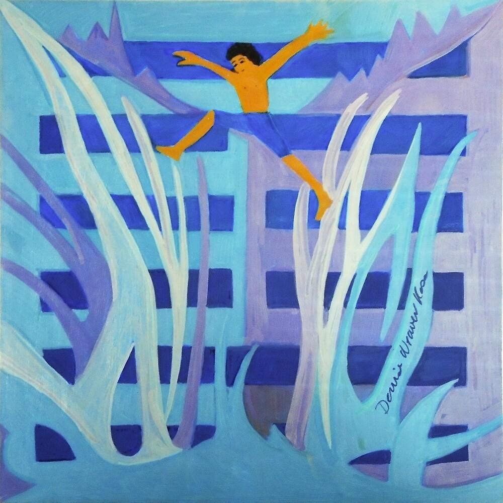 Hexagram 4: Mêng (Youthful Folly)  by Denise Weaver Ross