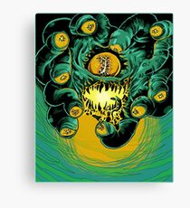 Dungeons, Dragons and Dice • Beholder Canvas Print