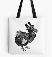 Mr Dodo | Black and White Tote Bag