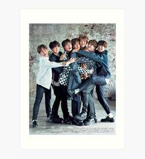 BTS CUTE ASS POSTER Art Print