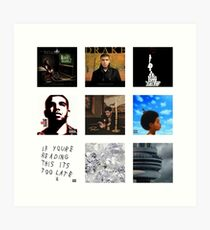Drake - Album Art Art Print