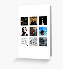 Drake - Album Art Greeting Card