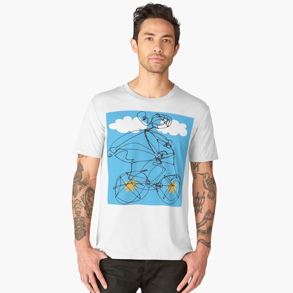 Free Spirit (B2) Men's Premium T-Shirt Front