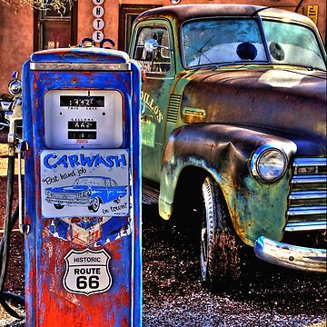 Rustic Route 66 Arizona by DianaG