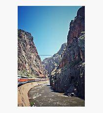 Royal Gorge Railroad #5 Photographic Print