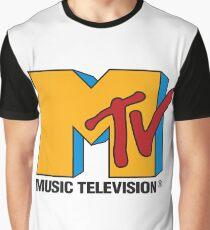 MTV 90's Logo Graphic T-Shirt