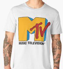 MTV 90's Logo Men's Premium T-Shirt