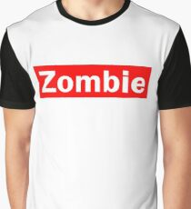 Zombie Hipster Graphic T-Shirt