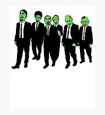 Reservoir Zombies  Photographic Print
