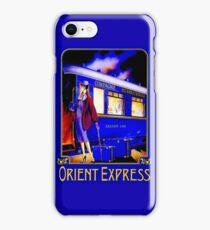 ORIENT EXPRESS: Vintage Train Passenger Travel Print iPhone Case/Skin