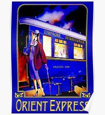 ORIENT EXPRESS: Vintage Train Passenger Travel Print Poster