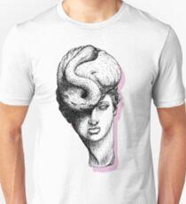 Hybrid Pastel Flamingo Pink Unisex T-Shirt