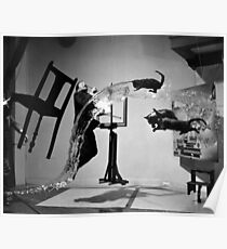 Dali Atomicus by  Philippe Halsman, 1948 Poster
