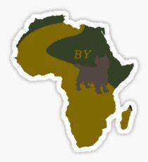 Africa by Toto- Pun Art Sticker