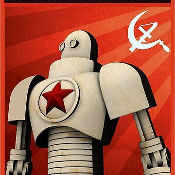 Soviet Propaganda Robot (C4) by C4Designs