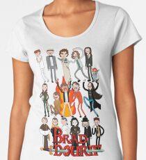 Brad Dourif Time! Women's Premium T-Shirt