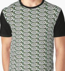 Nature's Illusions- Emerald and Ice Graphic T-Shirt