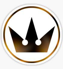 Kingdom Hearts Crown Sticker