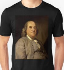 Benjamin Franklin 1785 by Joseph-Siffrein Duplessis (2) Unisex T-Shirt