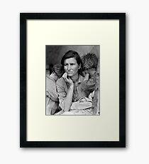Migrant Mother by Dorothea Lange, 1936  Framed Print