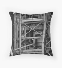 Disoriented Structure Throw Pillow