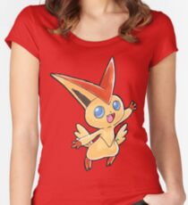 Victini Women's Fitted Scoop T-Shirt