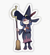 Teacher Witch Sticker