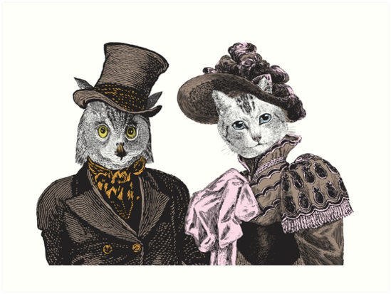 The Owl and the Pussycat by EclecticAtHeART