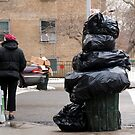 Inside Job Garbage by Louis Galli