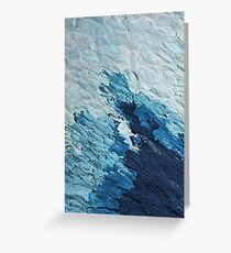 Blue as the Sea V2 Greeting Card