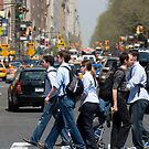 Crossing Central Park West by Louis Galli
