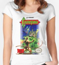 CASTLEVANIA Women's Fitted Scoop T-Shirt