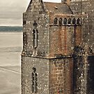 Mont St. Michel - Square Tower - Brittany France by Buckwhite