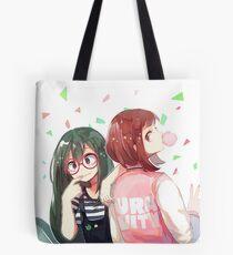 Tsuyu + Uraraka Tote Bag