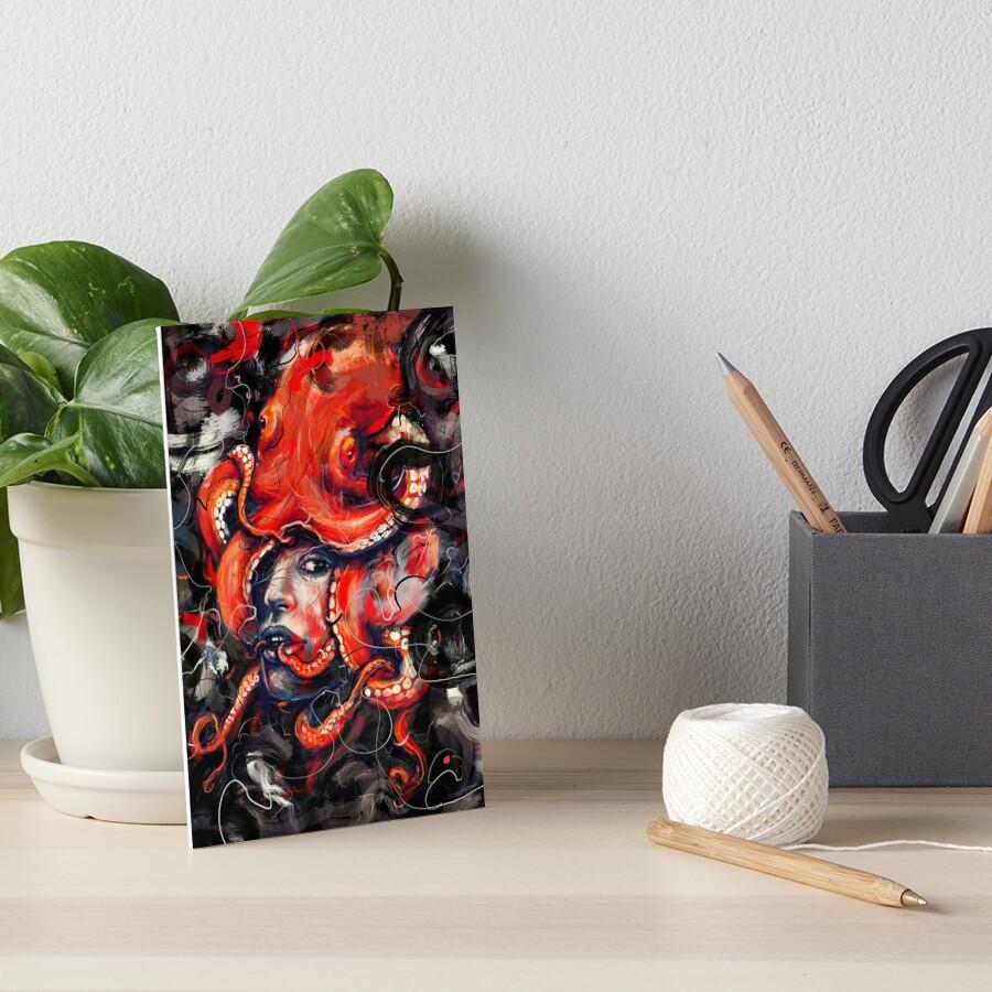 Empress Octo Art Board Print