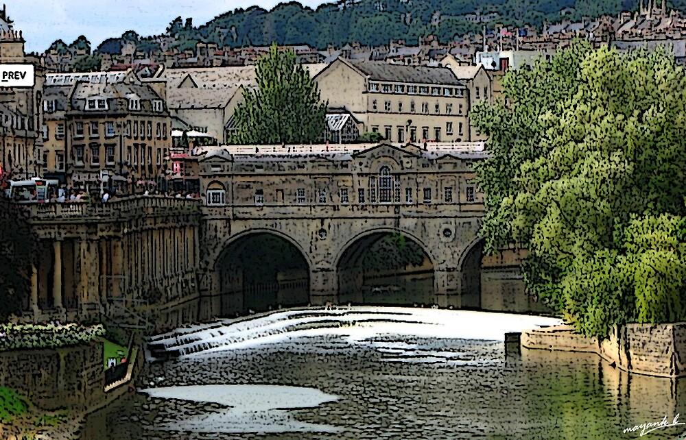 River upon Bath by Mayank Bhramar