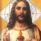 Jesus sacred heart of Jesus by dennisjordan